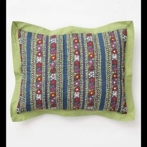 NWT Anthropologie pillow shams